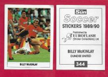 Dundee United Billy McKinlay Scotland 344